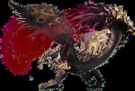MHGen-Dreadqueen Rathian Render 001