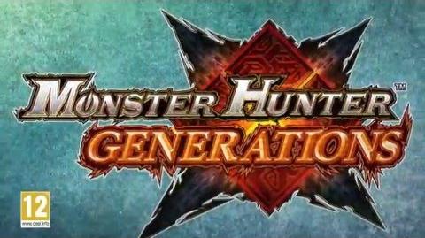 Monster Hunter Generations - Un tout nouveau type de chasseur! (Nintendo 3DS)
