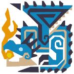 Azure Rathalos 3U Icon
