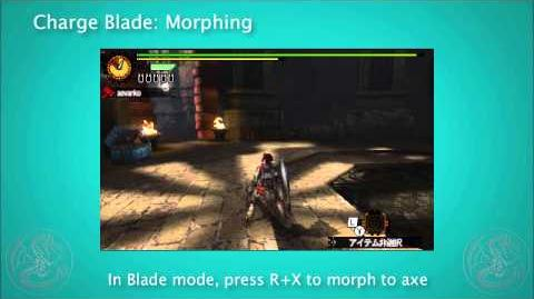 MH4G Charge Blade Tutorial