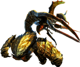 MH4U-Seltas Queen Subspecies and Seltas Subspecies Render 001