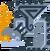 Silver Rathalos 3U Icon