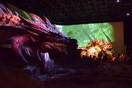 USJ-Golden Thunder Prince Zinogre and Black Flame King Rathalos Screenshot 001
