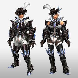 FrontierGen-Akura Armor 001 (Blademaster) (Front) Render