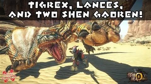 Monster Hunter Online - Tigrex, Lances, And Two New Shen Gaoren!