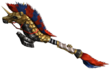 FrontierGen-Hunting Horn 004 Low Quality Render 001