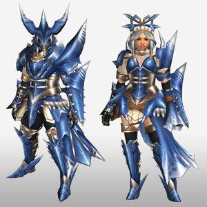 FrontierGen-Torupedo G Armor (Gunner) (Front) Render