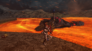 Dead Lavasioth in Lava