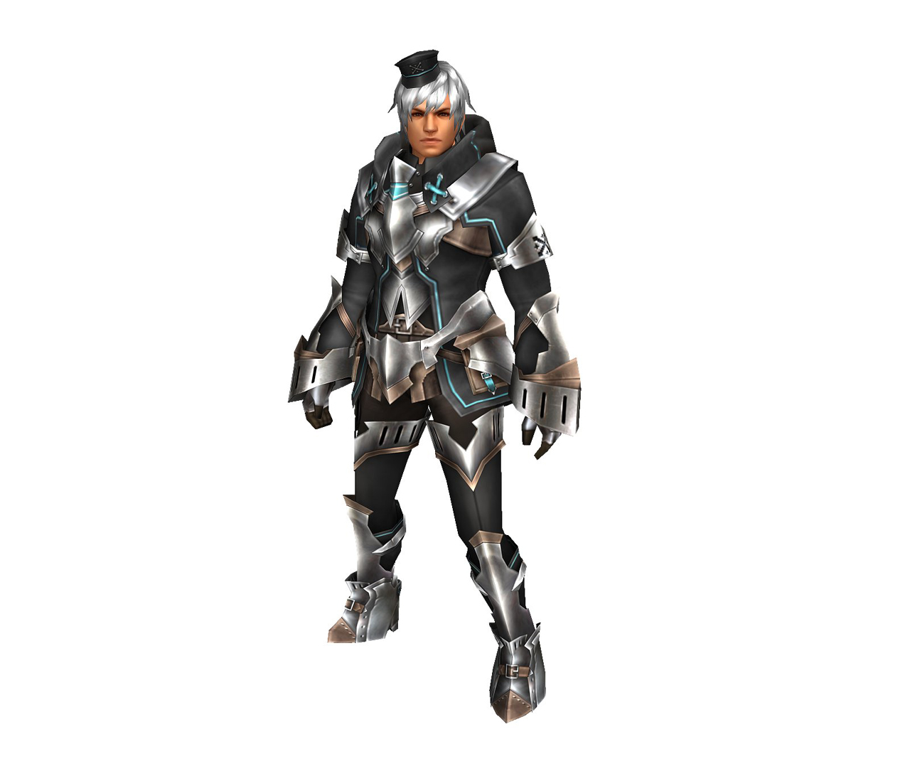 FrontierGen-Bande Armor (Male) (Both) (Front) Render 004
