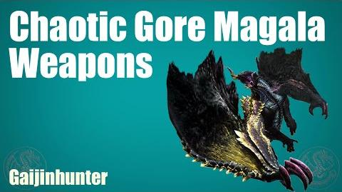 MH4G MH4U Chaotic Magala Weapons