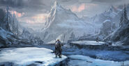 MHO-Yilufa Snowy Mountains Concept Art 015