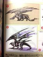 MHXX-Barufaruku Concept Art 001