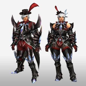 FrontierGen-Akura G Armor (Blademaster) (Front) Render