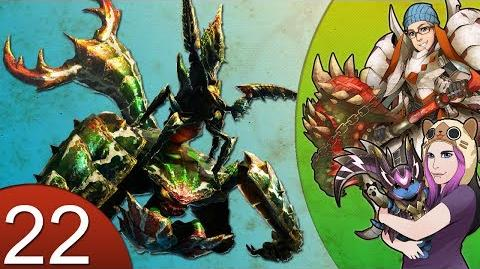 Monster Hunter 4 Nubcakes 22 - Seltas Queen English commentary online gameplay