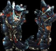FrontierGen-Guren Armor (Blademaster) Render 2