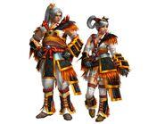 FrontierGen-Satokagura G Armor (Gunner) Render 2