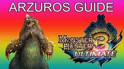 G1★ Arzuros guide アオアシラ - Monster Hunter 3 Ultimate MH3U