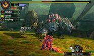 MH4U-Deviljho and Ruby Basarios Screenshot 001