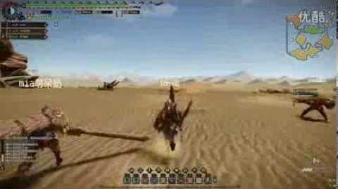 怪物猎人Online(Monster Hunter Online) CBT1 Cephadrome Battle