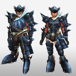 FrontierGen-Guren Armor (Gunner) (Front) Render
