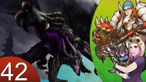 Monster Hunter 4 Nubcakes 42 - Gore Magala English commentary online gameplay
