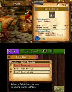 MH4U-Guild Quests Screenshot 005