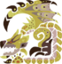 MHWI-Gold Rathian Icon