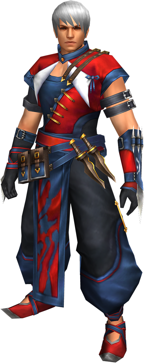 FrontierGen-Hiten Armor (Male) (Both) (Front) Render 002
