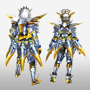 FrontierGen-Arugoru Armor (Blademaster) (Back) Render