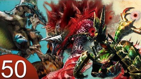 Monster Hunter 4 Nubcakes 50 - Stygian Zinogre, Azure Rathalos, Seltas Queen