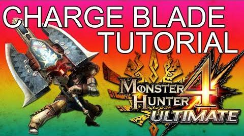 Monster Hunter 4 Ultimate Charge Blade Tutorial Guide English commentary