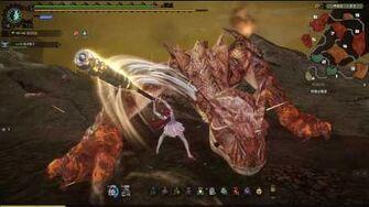 G2 Lava Tigrex 3 ADEPT Hammer - Monster Hunter Online MHO