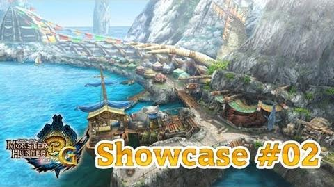 MH3U Showcase 02 Online-Stadt Tanjia + Gildenkarte