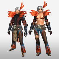FrontierGen-Hypnoruta Armor (Both) (Front) Render