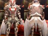 Armure Fatalis blanc (Épéiste) (MH4U)