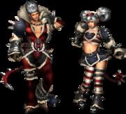 FrontierGen-Ukon Armor (Both) Render 2