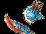 MH4U - Epée & Bouclier - Croc Velocidrome