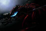 MHFG-Supremacy Unknown (Black Flying Wyvern) Artwork 001