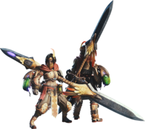 MHW-Insect Glaive Equipment Render 001