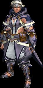FrontierGen-Gania Armor (Male) (Both) (Front) Render 004
