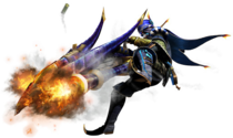MHGen-Heavy Bowgun Equipment Render 001