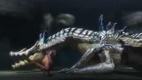 Monster Hunter 3 (Tri) G - Conqueror of Land & Sea (Ivory Lagiacrus intro)