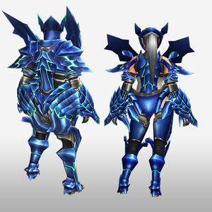 FrontierGen-Diore Armor (Blademaster) (Back) Render