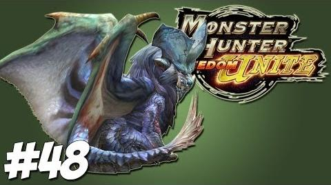 Lunastra - Let's Play Monster Hunter Freedom Unite Gameplay Commentary - Ep