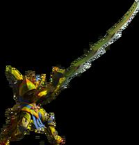Monster Hunter 4 Longsword Render