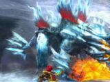 Brachydios projection glaciale
