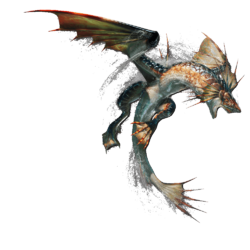 MHGen-Plesioth Render 001