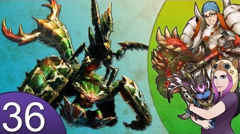 Monster Hunter 4 Nubcakes 36 - FERAL Seltas Queen English online gameplay