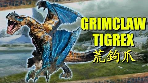 Monster Hunter Generations (X) The Grimclaw Tigrex 荒鉤爪ティガレックス-0