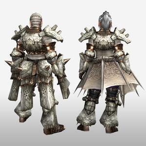 FrontierGen-Kokaro Armor (Both) (Back) Render